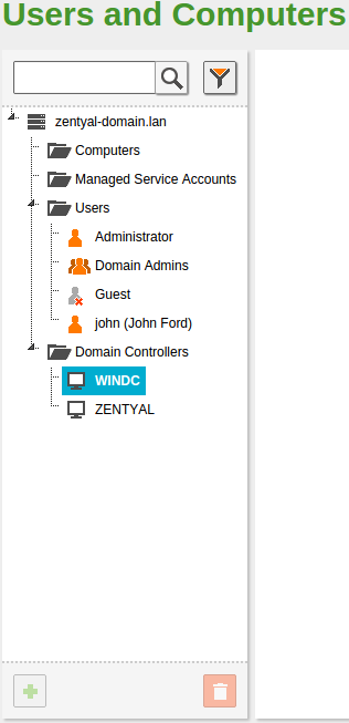Migration from Windows Server to Zentyal - Zentyal