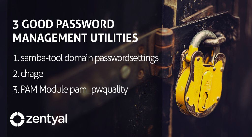 Three good password management utilities