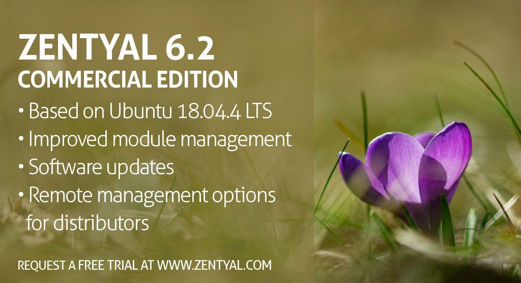 Zentyal Server Commercial Edition 6.2 Released