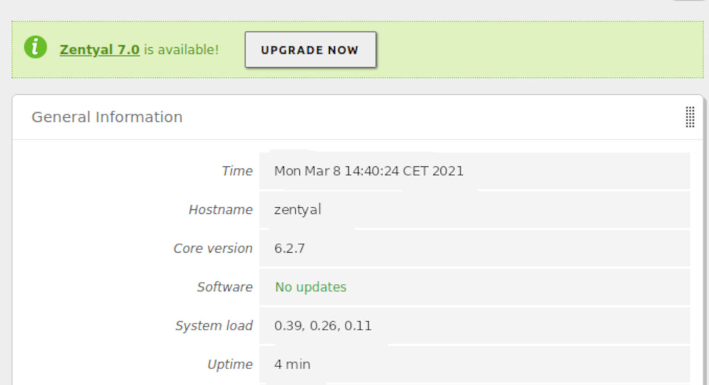 Upgrade path to Zentyal Linux Server 7.0 now available