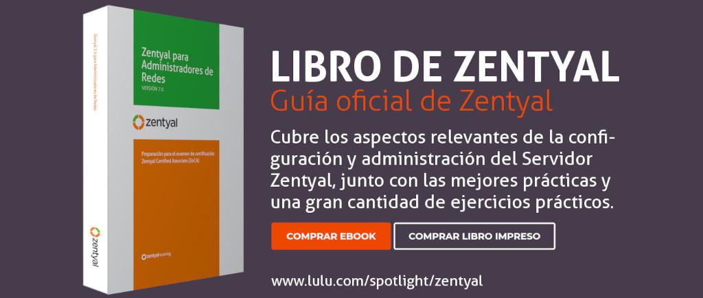 Libro Oficial de Zentyal 7.0 ahora disponible